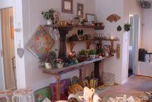 Retro/vintage møbler - Natur-deko ved Marianne Hansen / Jeg giver gamle møbler nyt liv med friske farver og en slibning så de fremstår som antikke
