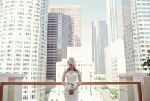 Wedding photography: city
