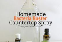 DIY cleaning supplies and cleaning hacks