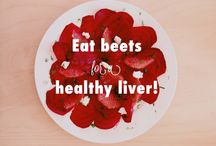 """Recipes to MOVE LIVER QI STAGNATION / """"Let food be thy medicine and medicine be thy food."""" ― Hippocrates  The recipes on this board will help move the body's liver qi. Alcohol consumption, fatty foods, excess sugar, mixed with a high stress lifestyle and exposure to environmental toxins all contribute to a congested liver.  This leads to pain, irritability, irregular menstrual cycles, and even depression.  These recipes, along with regular exercise and stress reducing techniques, can help detox and regulate how your liver functions."""