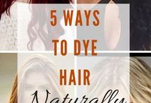 hair dye naturally