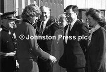 7 MARCH 1989: PRINCESS DIANA IN PENDLE & WARTON LANCASHIRE / Royal Tour