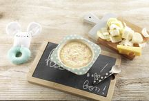 Les déjeuners d'un bébé gourmet / Recettes de petits plats complets pour le déjeuner de bébé.