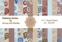 Digital paper pack / Digital paper desighned by ScrapArt Studio