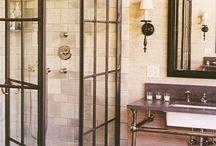 Bathrooms & hallways