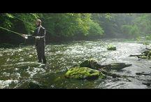 Fly fishing / Pêche à la mouche, rivières et outdoor