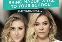 2016 VIDEO CONTEST / Country duo Maddie & Tae will perform a private concert at the school of one lucky student in May 2016. Find out how to win!