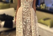 Wedding dress / Wedding dress boho chic bohemiam