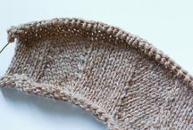 Knit and crochet design