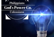 God's Power Co. / Bible Study Through Philippians and Colossians