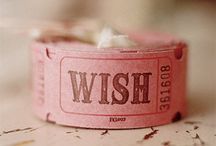 wish / by Chelsea Coffman