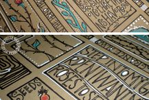 DIY - Art Journal / stencils