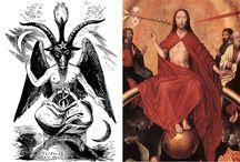 Baphomet and Jesus