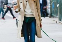 trench beige coat