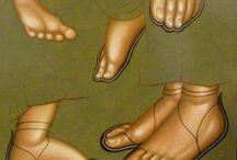 iconografie - picioare