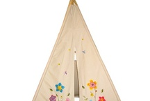 Easy to build forts Get creative with cutting out patterns to glue/sew on