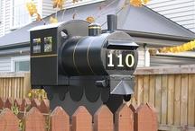 Train letterbox
