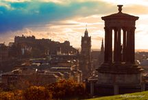 Edinburgh Scotland Photos / Some of our favourite things to do, snaps and views of Edinburgh during the Edinburgh Festival and Fringe Festival or any time of year