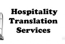Hospitality Translation Services Provider / TridIndia company offers certified, professional Hospitality translations designed specifically for Hospitality Industry Translation, Globalization and Localization clients.