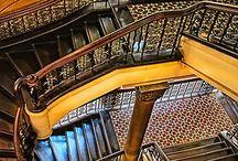 C6-6- Escaliers et Arches / Les uns conduisent, les autres soutiennent! Les uns conduisent aux autres, et vice-versa! Un continuum perpétuel!