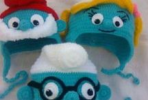 Crochet Hats , gloves and Scarves