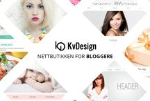 Bloggdesign by KvDesign / - bloggdesign tilpasset blogg.no -