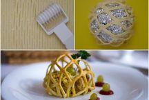 pasta börek salata  süslemeler