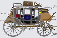 Stagecoaches / In #writing my historical fiction, I have to research stagecoaches, hence this board. I hope it benefits you as well.