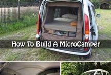 Microvan autocostruito