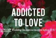 SHOP : wedding / Our 2016 Addicted To Love Wedding Catalog is an exclusive collection of iconic letterpress invitations inspired by classic American cities. You can browse the entire Addicted To Love collection on our website! http://hartfordprints.com/product-category/letterpress/wedding/