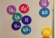 Teaching -- Solfege / Teaching solfege syllables and signs.