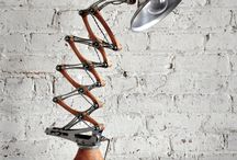 Omnitasker Design Industrial Lamps / A collection of industrial lamps that combine expert machining, reclaimed materials and an eye for a modern aesthetic.