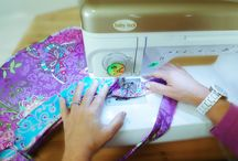 Make Bags With Brenda / Learn to sew a beautiful handbag from an experienced designer and teacher. Step-by-step video instruction by Brenda Miller.