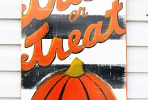 signs of Fall/Halloween / by Cindy Aaron-Worsley