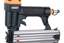 Pneumatic Tools & Accessories / Tired of swinging a hammer? A pneumatic air nailer may be the answer. Here are a few air nailers that make driving nails faster and more effective. Check out our selcetion and choose the right nailer for your job!