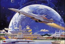 Space Art / Depiction of subjects related to space exploration