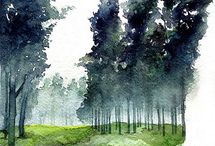 Sunga Park-Contemporary Watercolours / (KR)