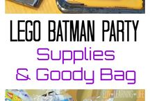 LEGO Batman Birthday Party Ideas