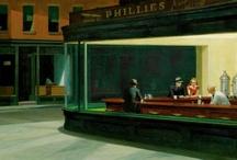 Nighthawks diorama