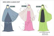 Jilbab&mukenah