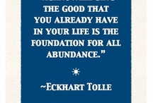 Abundance, like perfection, already exists - 55