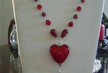 perlas y alambre