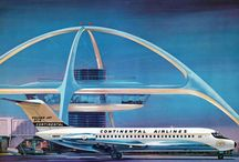 Continental Airlines - proud bird with the golden tail / by RTW777 Info