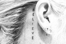 tattoos / by Katie Carpenter