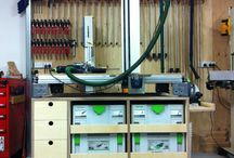 Festool & workshop storage