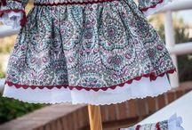Vestido Cachemir Vigoré / Vestido otoñal, ideal para las princesas de la casa