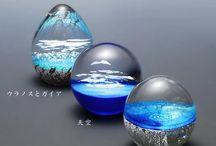 ガラス&レジンの世界