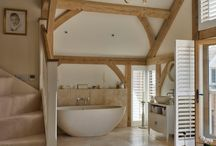 Barn conversion interiors