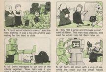 Mr Benn comics