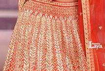 Lehenga Love {BRIDAL} / A collection of stunning bridal lehengas for Indian Brides. We're curating the best in Indian bridal fashion, making for some serious wedding ensemble inspiration for our brides :)